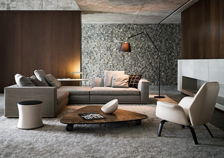 fotos de salones modernos contemporaneos muebles minotti ideas