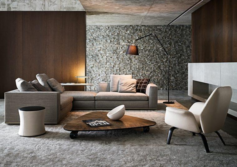 fotos de salones modernos contemporaneos muebles minotti ideas