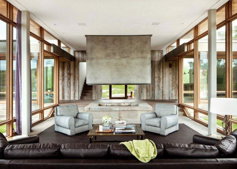 fotos de salones modernos diseno hughes umbanhowar architects ideas