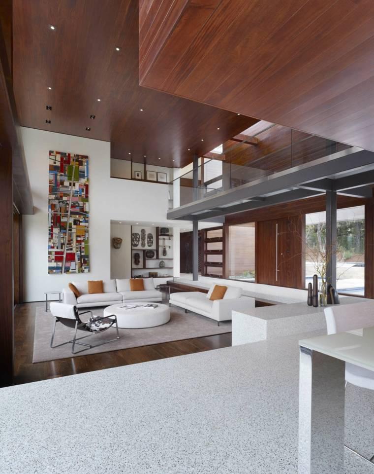 fotos de salones modernos diseno swatt miers architects ideas