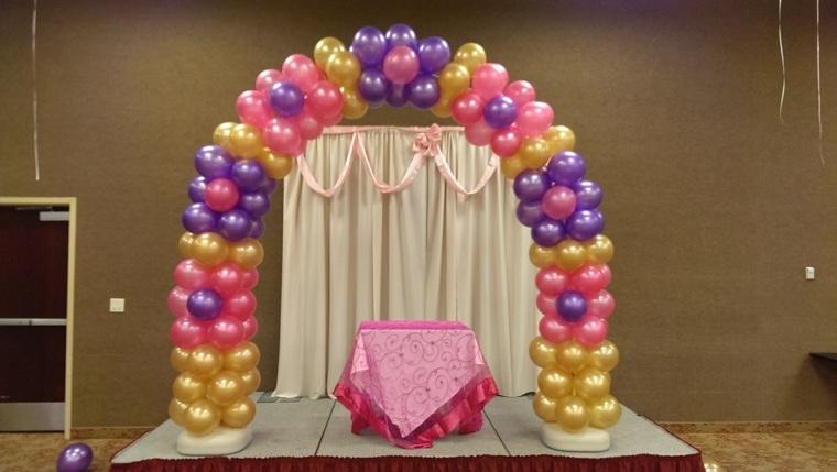 globos fiesta de cumpleaños interior