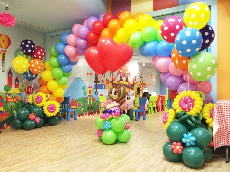 globos para cumpleaos decoracin interior
