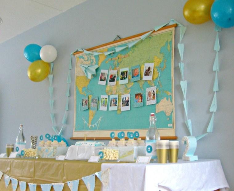 globos para cumpleaños inteior casa