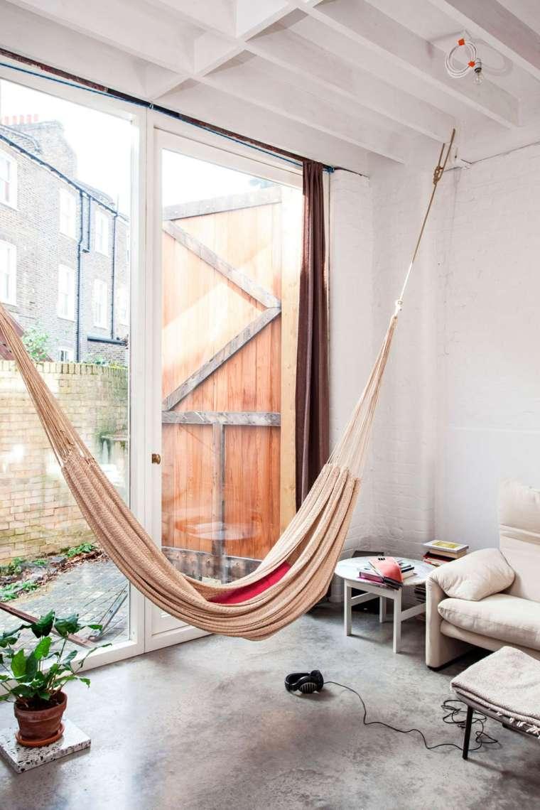 hamaca casa luminoso interior opciones ideas