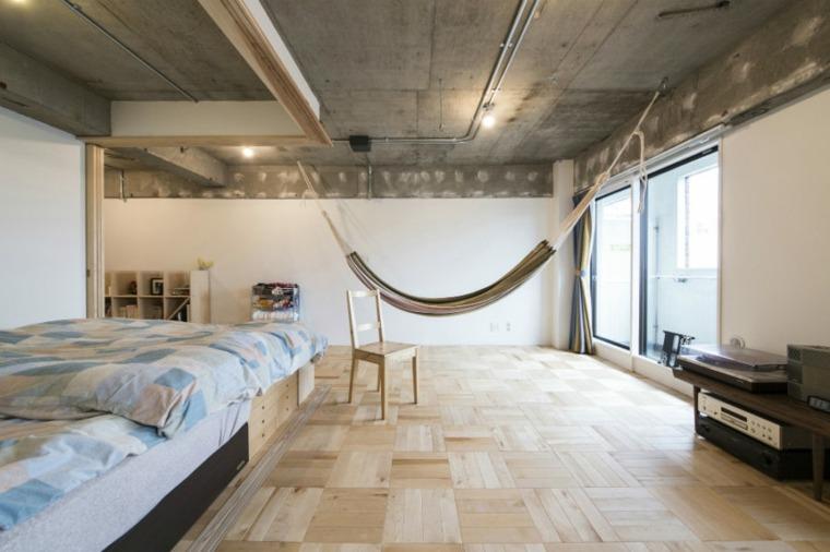 hamacas colgantes diseno casa yuichi yoshida associates ideas