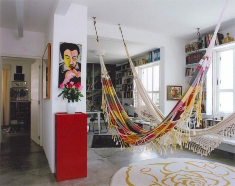 hamacas colgantes diseno interior piratininga arquitetos associados ideas