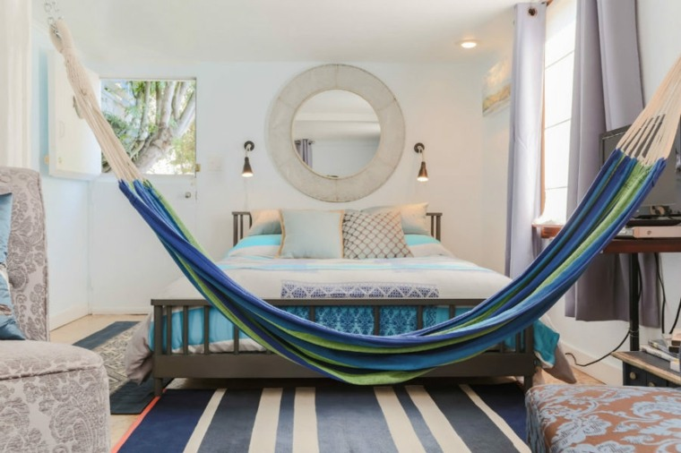 hamacas interiores ideas dormitorio foto gillian walsworth photography
