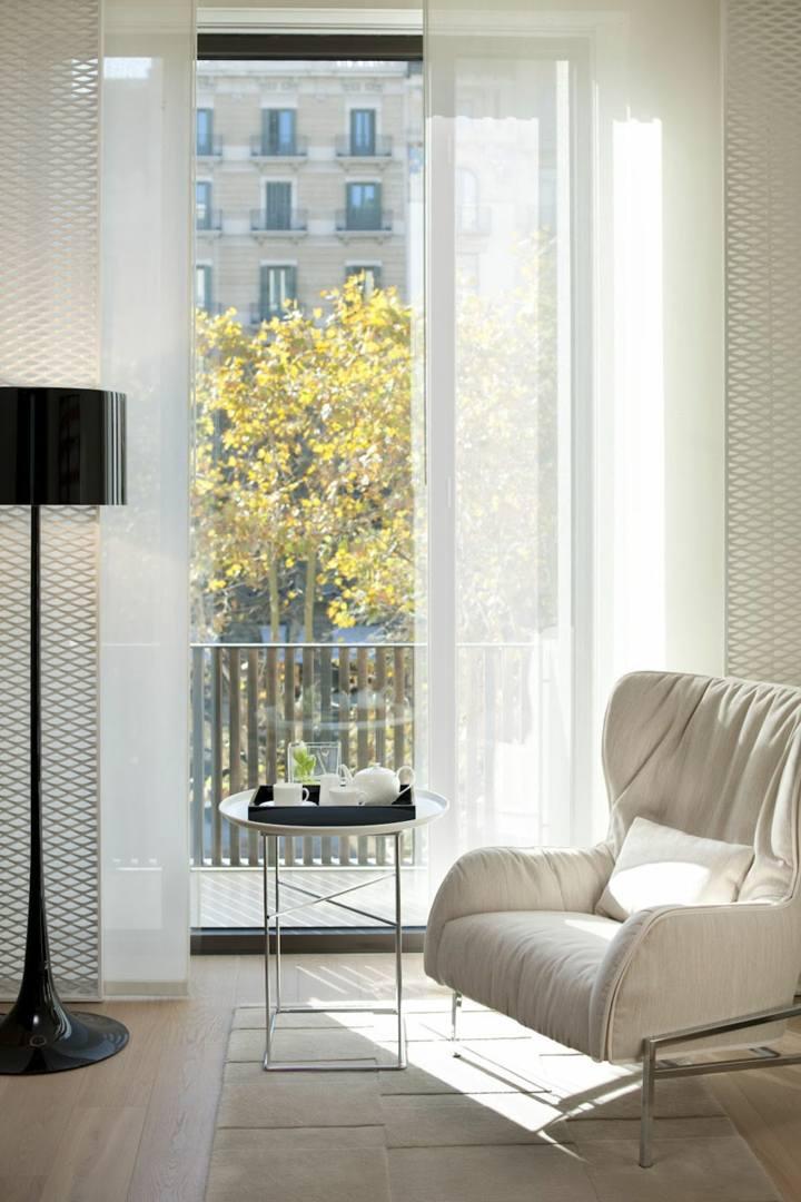 hoteles habitaciones conceptos muebles negro