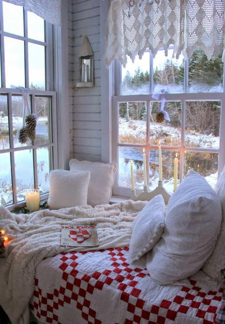 ideales caliente velas invierno lamparas