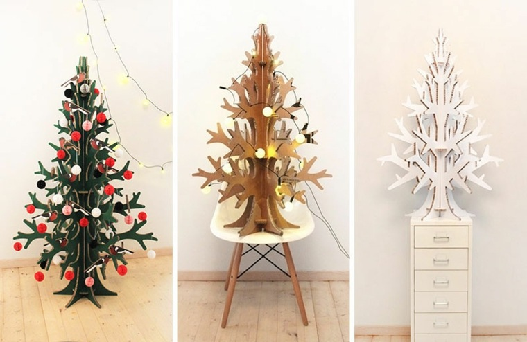 ideas rboles navidad originales