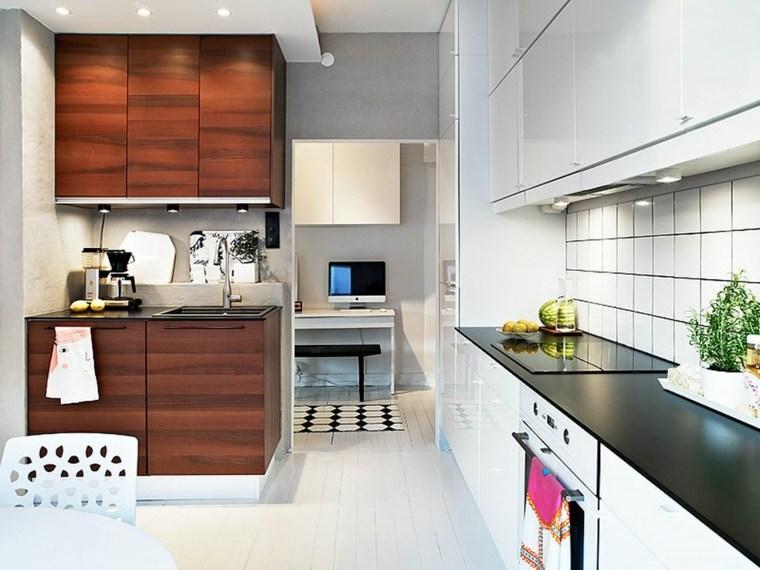 ideas diseño cocinas pequeñas