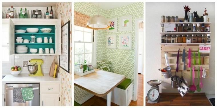 Mini cocinas c mo aprovechar su espacio al m ximo for Ideas para cocinas pequenas
