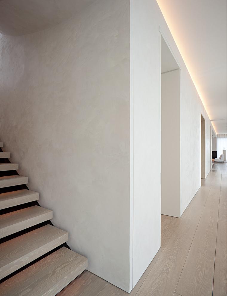 iluminacion ideas escaleras pasillos suelos
