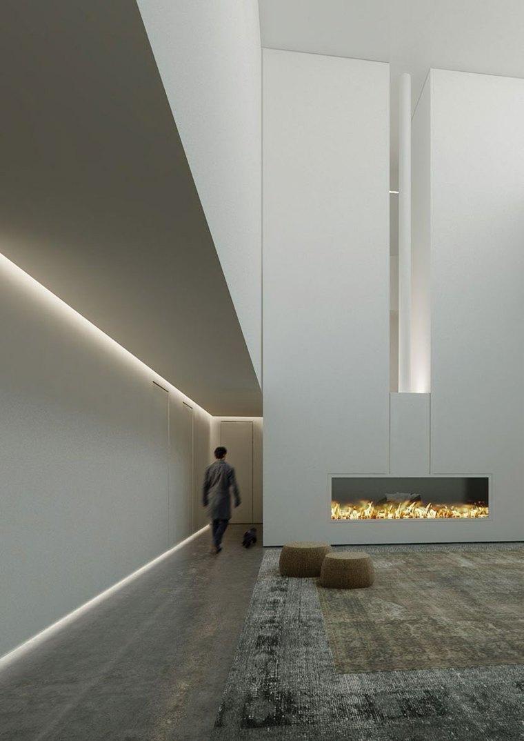 iluminacion ideas materiales estilos pasillos