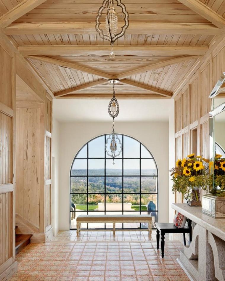 impresionanmte diseño mirador pasillo