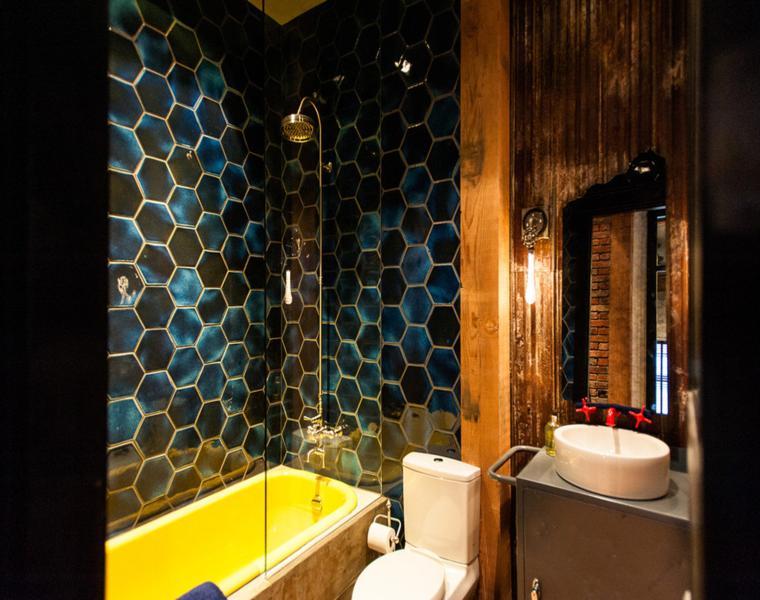 impresionante diseño azulejos baño