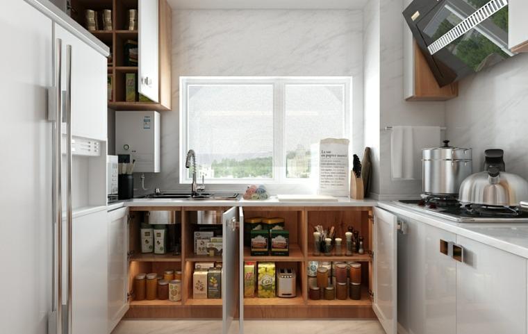 inteligente cocina estilos salas luz natural