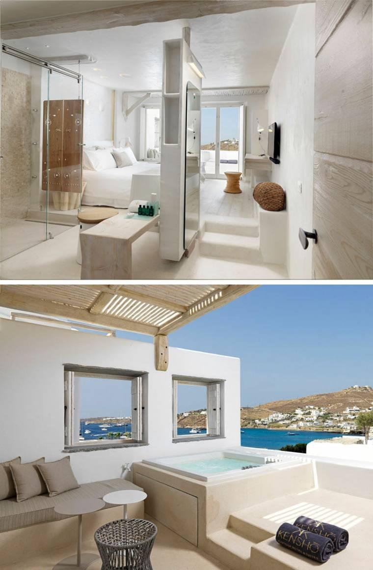 interior dormitorio diseño vistas