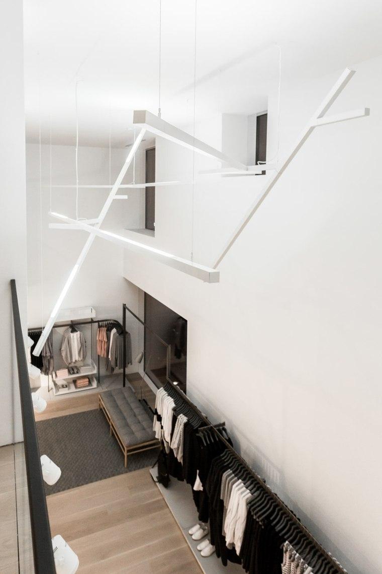 interior moderno luces colgantes