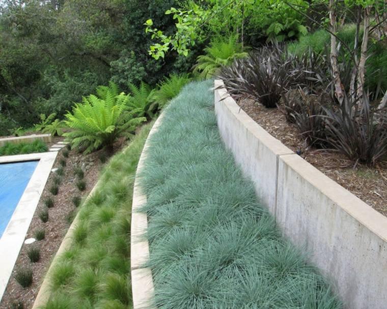 jardin terrazas diseño moderno