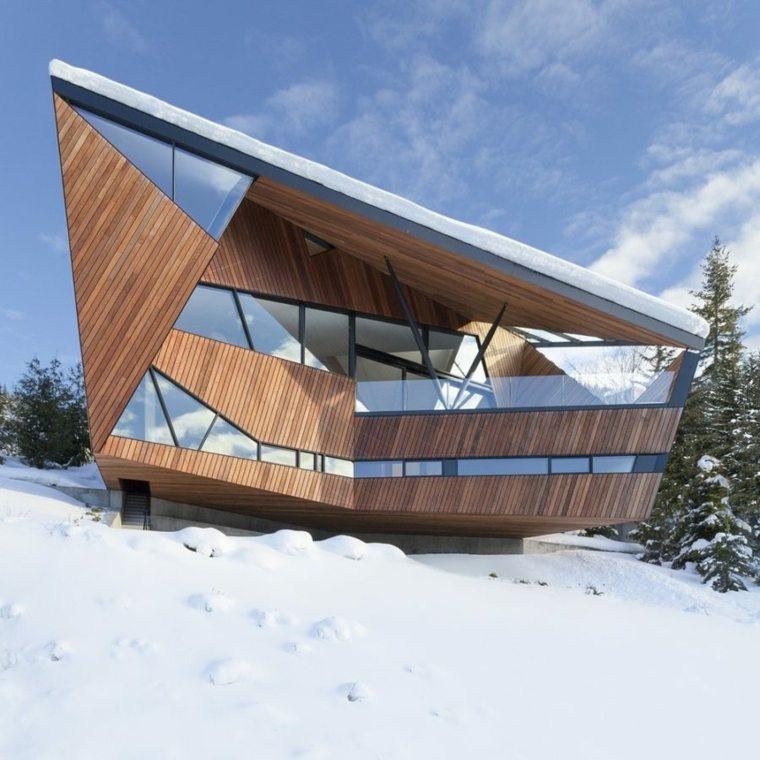la ventana cubiertas madera muebles escaleras
