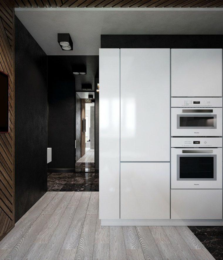 lacado cocina minimalista color efectos