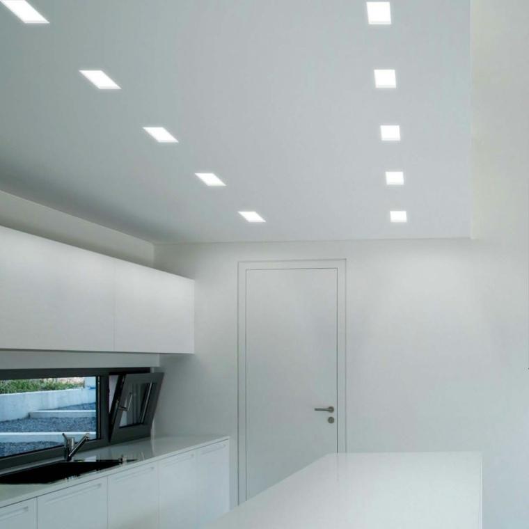 Luces led de panzeri para la iluminaci n del interior - Focos led techo cocina ...