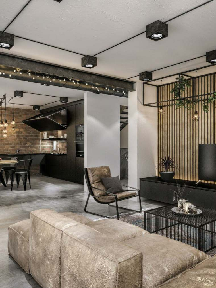 loft moderno diseno salon idwhite ideas
