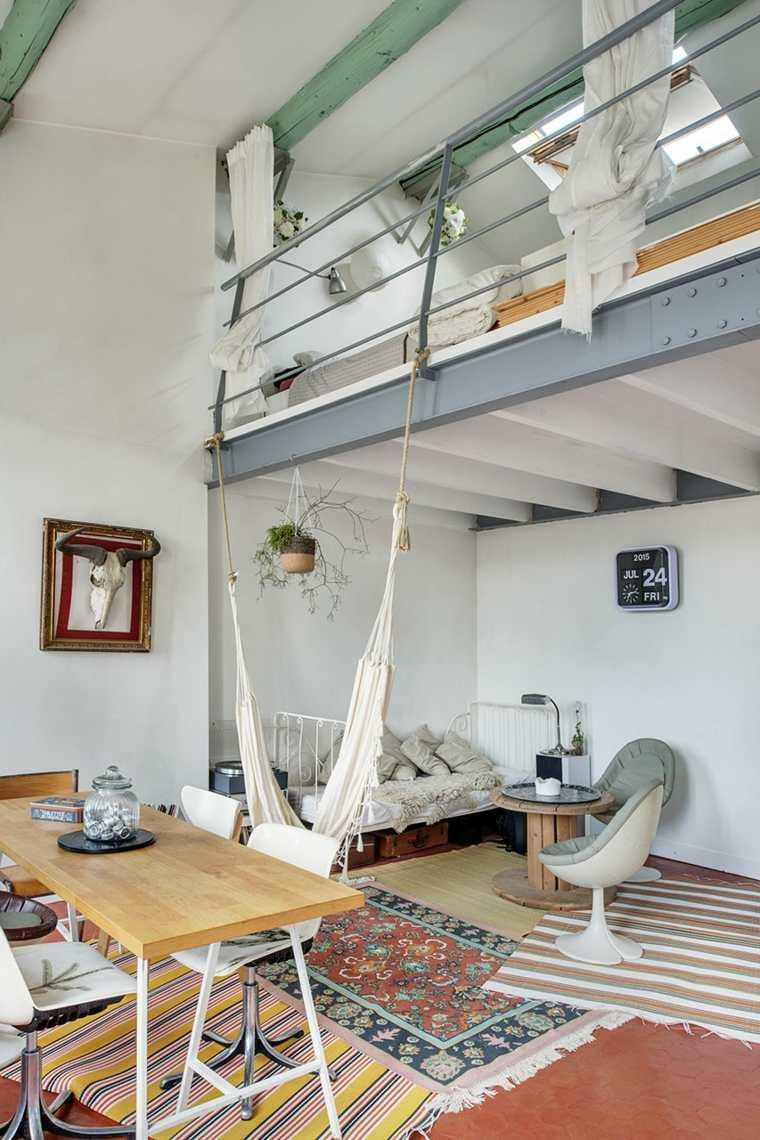 loft moderno hamaca diseno original ideas