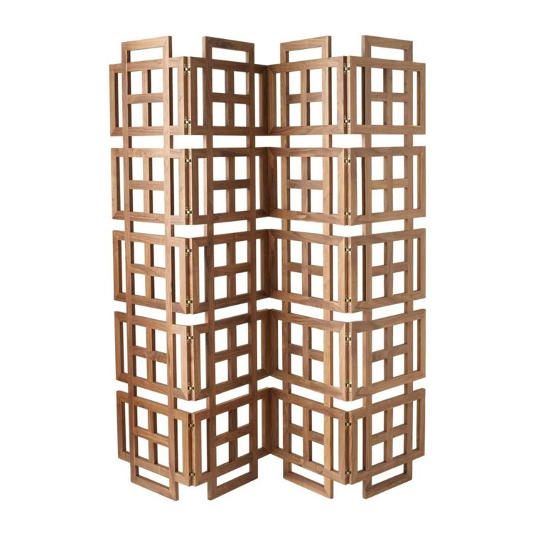madera acento asiatico interesante listones