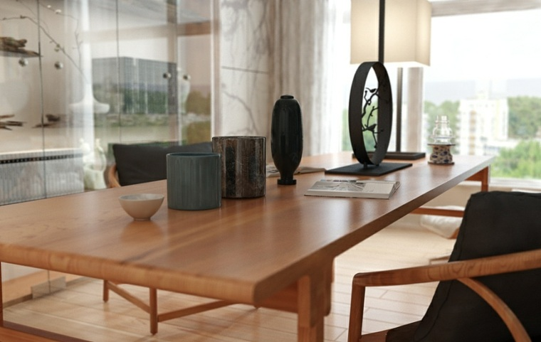 madera oficina asiatica especial sillas