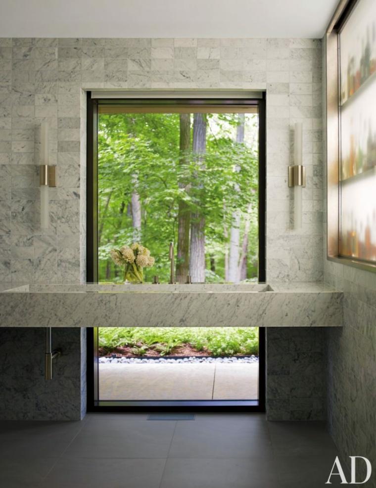 marmol ideas bano estilos lujo