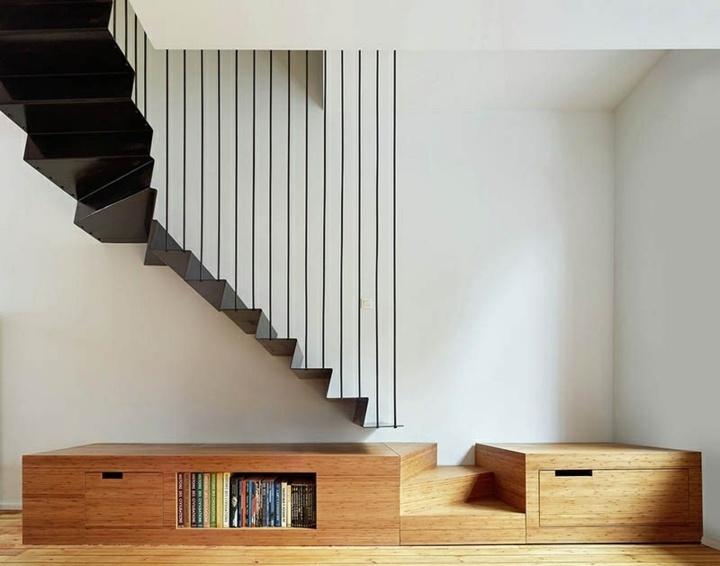 materiales madera metales linea libros