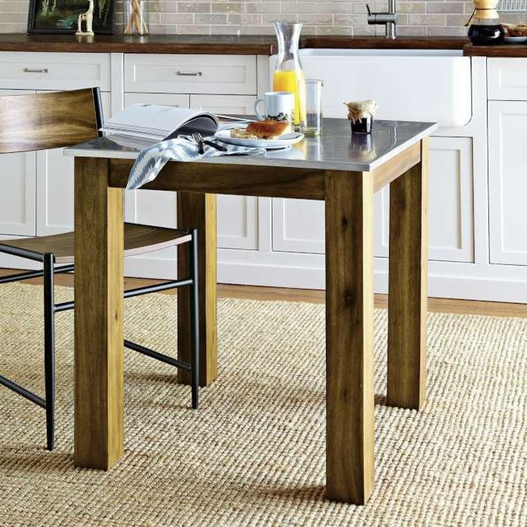 Cocinas baratas ideas para muebles de cocina baratos for Mesas auxiliares de cocina baratas