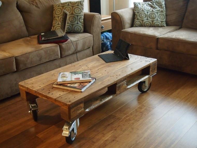 mesa café madera palet