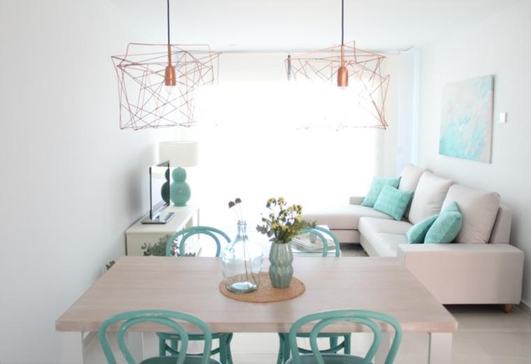 mesa comedor diseño sencillo