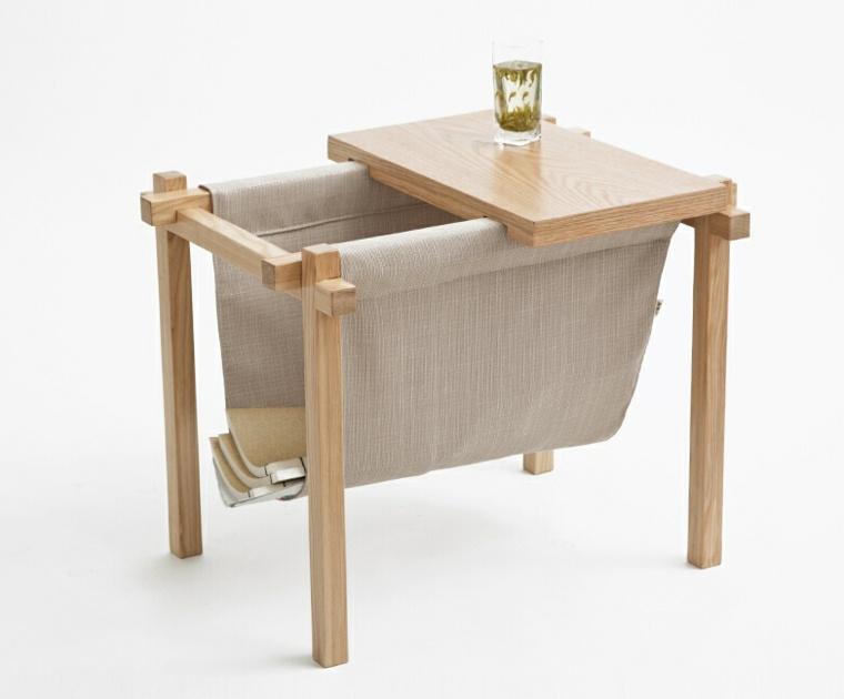 Mesas auxiliares de sal n para aprovechar en el interior - Mesas auxiliares pequenas ...