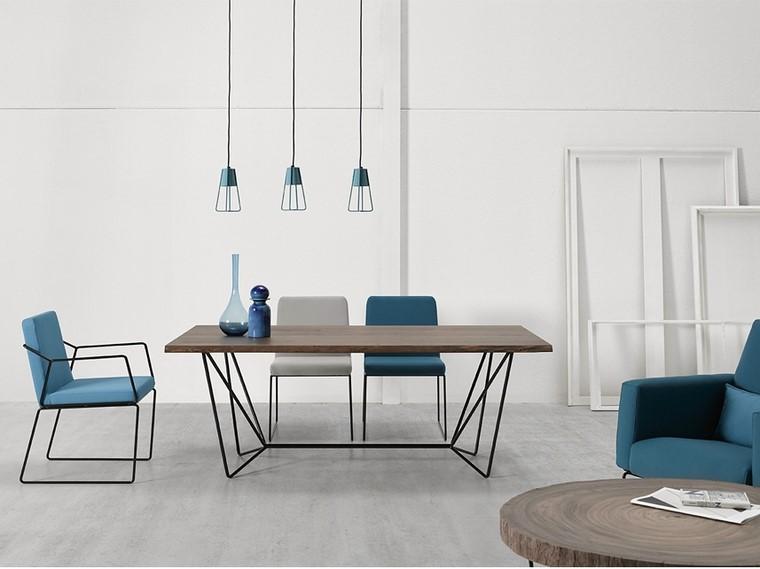 mesas de madera altinox minimal gemma colleccion ideas