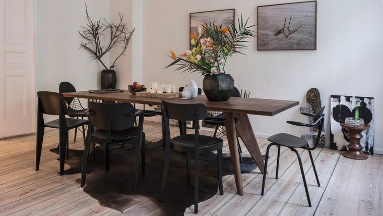 mesas de madera comedor diseno jean prouve ideas