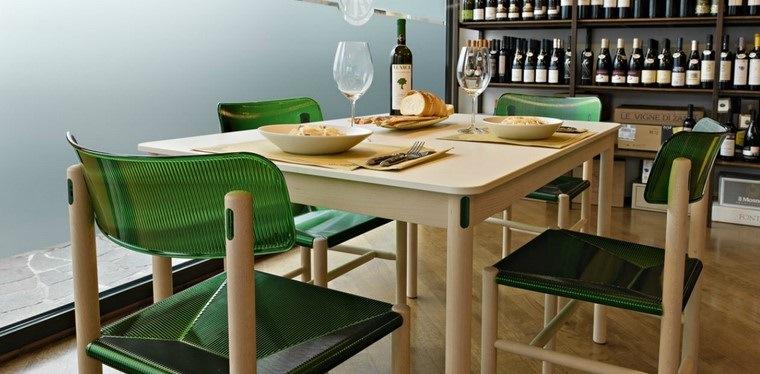 mesas de madera comedor diseno Magis ideas