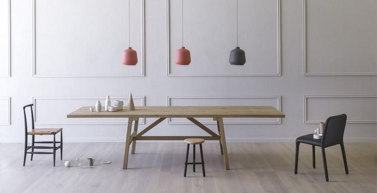 mesas de madera comedor diseno paolo cappello miniforms ideas
