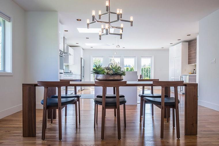 mesas de madera comedor diseno radius mesa bensen comedor ideas