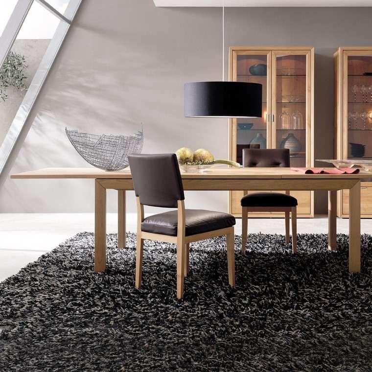 Mesas de madera 24 dise os para el comedor moderno - Mesas diseno comedor ...