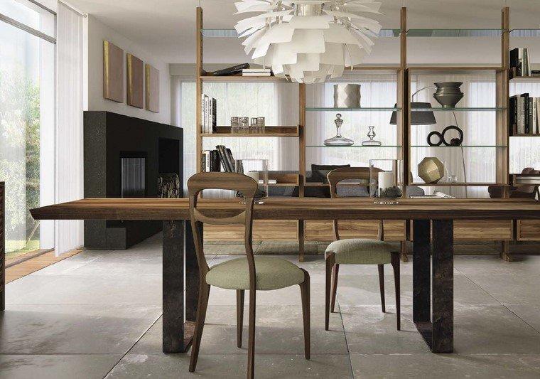 Mesas de madera 24 dise os para el comedor moderno for Mesas de comedor grandes de madera