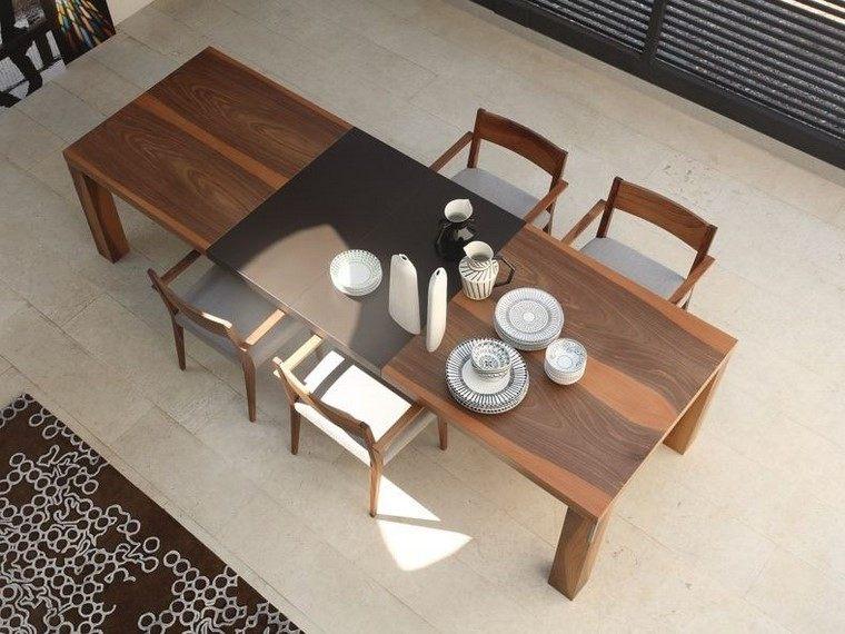 mesas de madera diseno colli italia mesa madera ideas