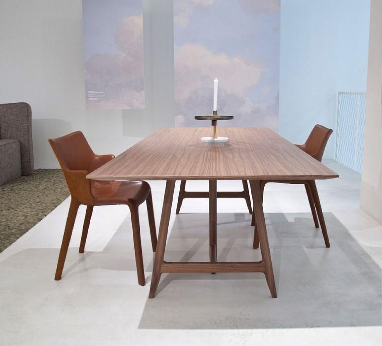 mesas de madera diseno easelv ludovica roberto palomba ideas