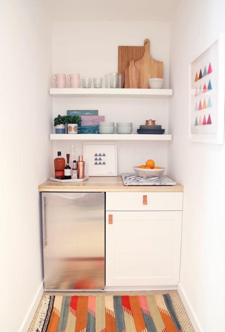 Mini cocinas c mo aprovechar su espacio al m ximo - Cocinas diseno moderno ...