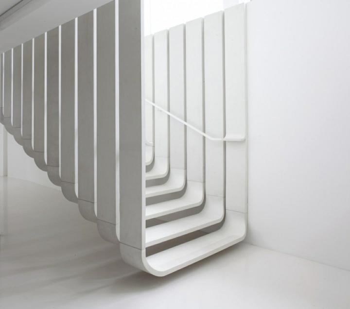 minimalistas blanca estructura suelos modernas