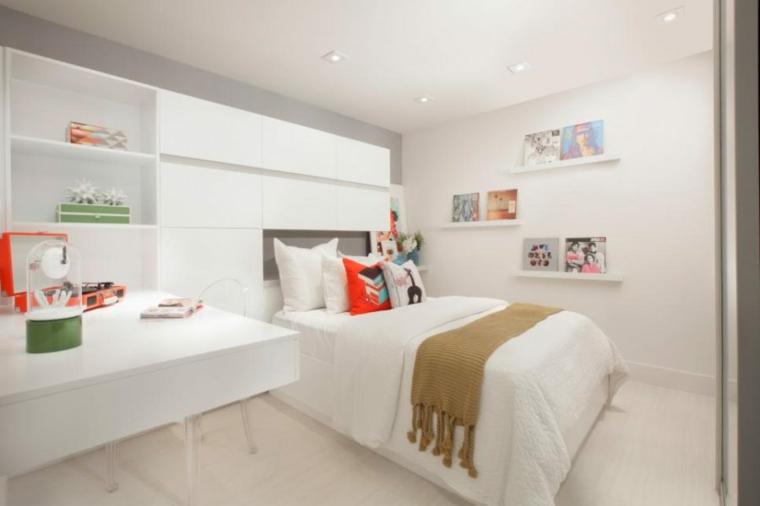 mobiliario diseño blanco ambiente efectos