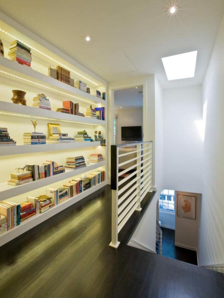 mobiliario diseño cocinas librero concepto luces